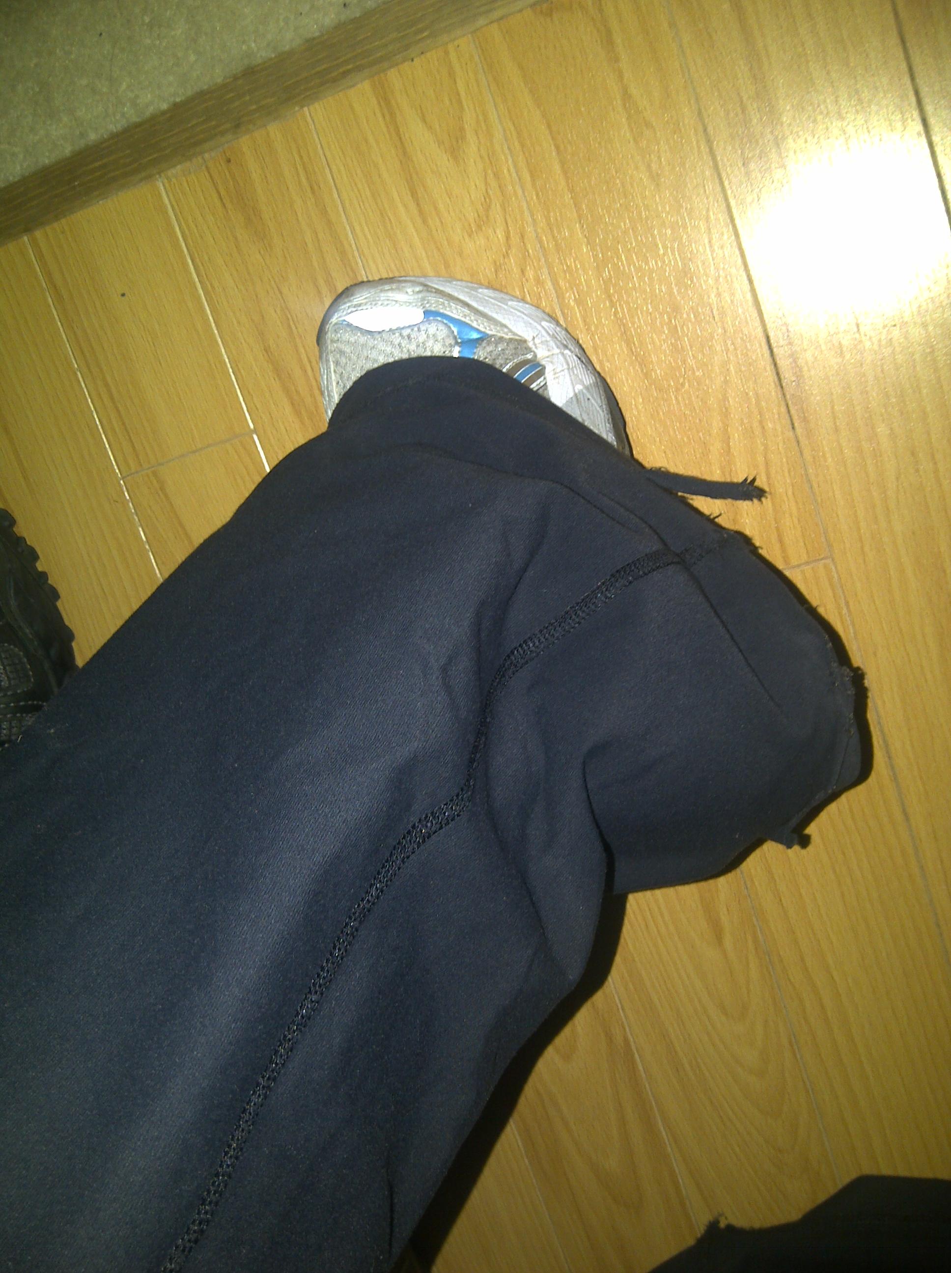 Yoga Pants Torn These Yoga Pants Have Taken a